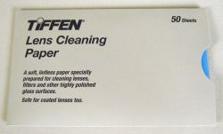Lens Cleaning Paper - Sold in packs of 50 sheets